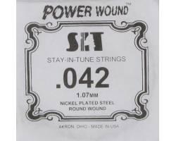 SIT STRINGS 042PW Струна для электрогитары