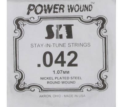 Купить SIT STRINGS 042PW Струна для электрогитары онлайн