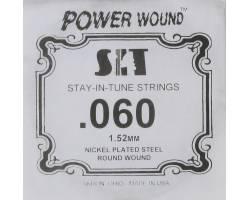 SIT STRINGS 060PW Струна для электрогитары