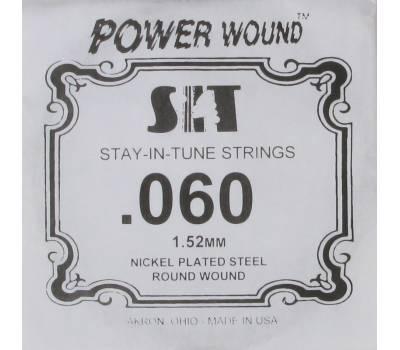 Купить SIT STRINGS 060PW Струна для электрогитары онлайн