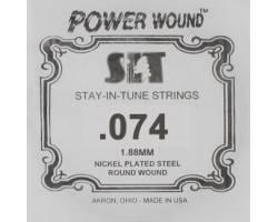 SIT STRINGS 074PW Струна для электрогитары