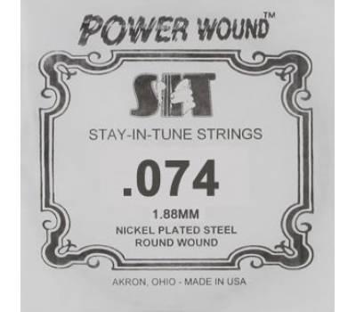 Купить SIT STRINGS 074PW Струна для электрогитары онлайн