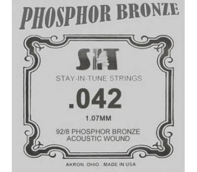 Купить SIT STRINGS 042B Струна для акустической гитары онлайн