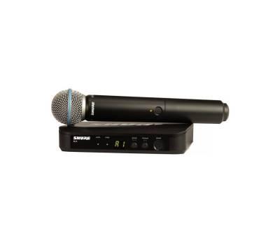 Купить SHURE BLX24E/B58-H8E Микрофонная радиосистема онлайн