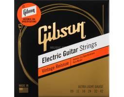 GIBSON SEG-HVR9 VINTAGE REISSUE 9-42 ULTRA LIGHT Струны для электрогитар