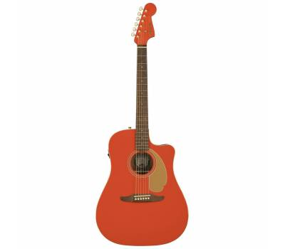 Купить FENDER REDONDO PLAYER WN FIESTA RED Гитара электроакустическая онлайн