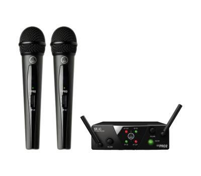 Купить AKG WMS40 Mini2 Vocal Set BD US25B/D Микрофонная радиосистема онлайн