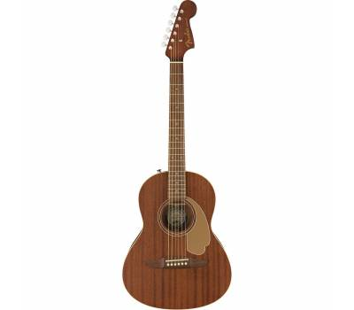 Купить FENDER SONORAN MINI MAHOGANY WN Гитара электроакустическая онлайн