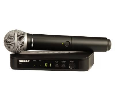 Купить SHURE BLX24E/PG58-M17 Микрофонная радиосистема онлайн