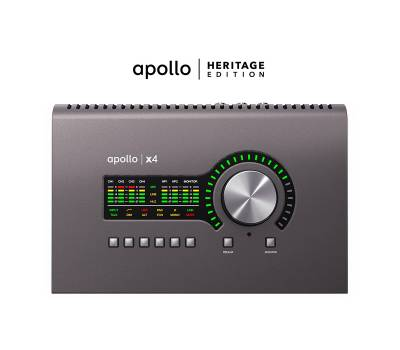 Купить UNIVERSAL AUDIO Apollo x4 Heritage Edition (Desktop/Mac/Win/TB3) Аудиоинтерфейс онлайн