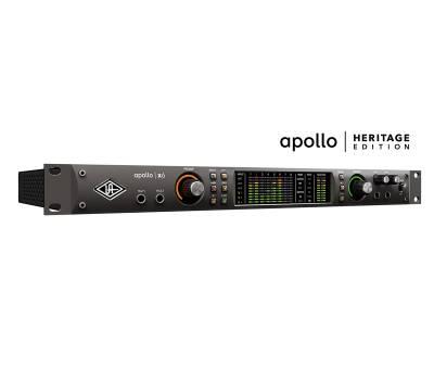 Купить UNIVERSAL AUDIO Apollo x6 Heritage Edition (Rack/Mac/Win/TB3) Аудиоинтерфейс онлайн