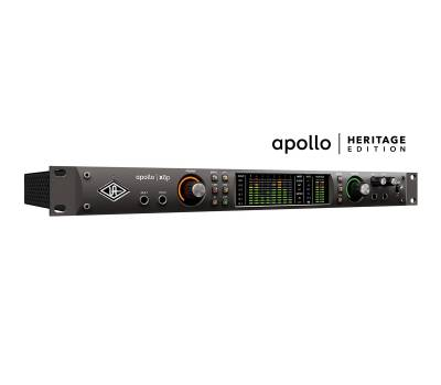Купить UNIVERSAL AUDIO Apollo x8p Heritage Edition (Rack/Mac/Win/TB3) Аудиоинтерфейс онлайн