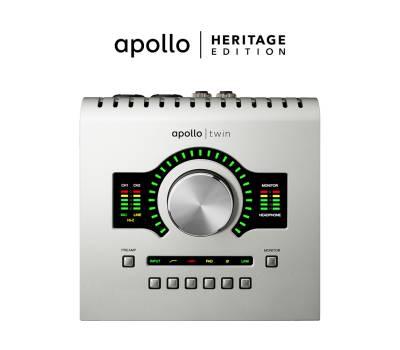 Купить UNIVERSAL AUDIO Apollo Twin USB Heritage Edition (Desktop/Win) Аудиоинтерфейс онлайн