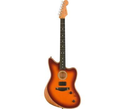 Купити FENDER AMERICAN ACOUSTASONIC JAZZMASTER TOBACCO SUNBURST Гітара напівакустична онлайн