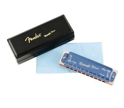 Купить FENDER HARMONICA MIDNIGHT BLUES G Губная гармошка онлайн