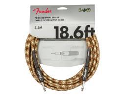 FENDER CABLE PROFESSIONAL SERIES 18.6' DESERT CAMO Кабель инструментальный