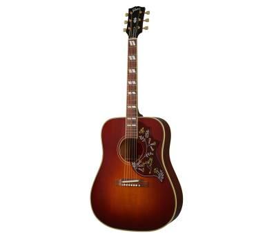 Купить GIBSON CUSTOM SHOP 1960 HUMMINGBIRD ADJUSTABLE SADDLE HERITAGE CHERRY SUNBURST Гитара акустическая онлайн
