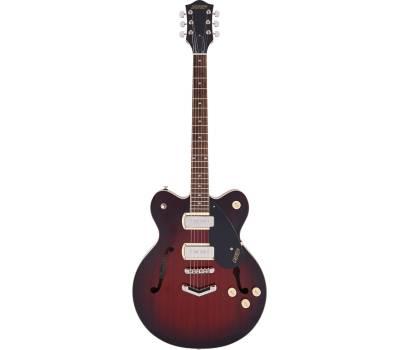 Купить GRETSCH G2622-P90 STREAMLINER CENTER BLOCK DOUBLE-CUT WITH V-STOPTAIL CLARET BURST Гитара полуакустическая онлайн