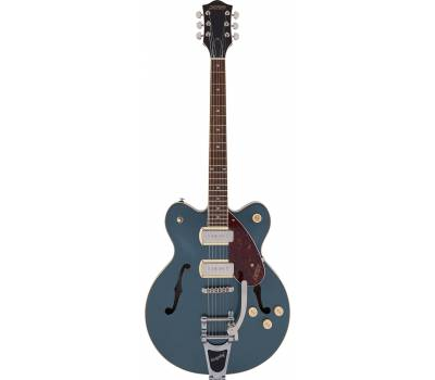 Купить GRETSCH G2622T-P90 STREAMLINER CENTER BLOCK WITH BIGSBY GUNMETAL Гитара полуакустическая онлайн