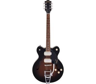 Купить GRETSCH G2622T-P90 STREAMLINER CENTER BLOCK WITH BIGSBY BROWNSTONE Гитара полуакустическая онлайн
