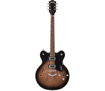 Купить GRETSCH G5622 ELECTROMATIC CENTER BLOCK DOUBLE-CUT WITH V-STOPTAIL BRISTOL FOG Гитара полуакустическая онлайн