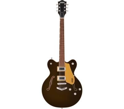 Купить GRETSCH G5622 ELECTROMATIC CENTER BLOCK DOUBLE-CUT WITH V-STOPTAIL BLACK GOLD Гитара полуакустическая онлайн
