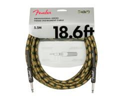FENDER CABLE PROFESSIONAL SERIES 18.6' WOODLAND CAMO Кабель инструментальный