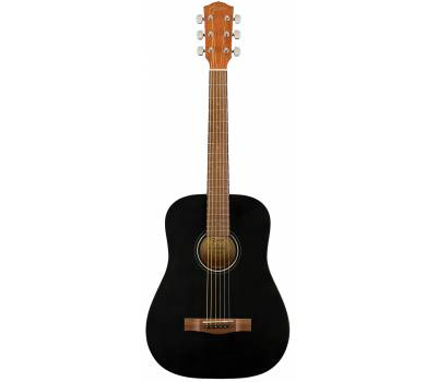 Купить FENDER FA-15 STEEL 3/4 BLACK WN w/BAG Гитара акустическая онлайн
