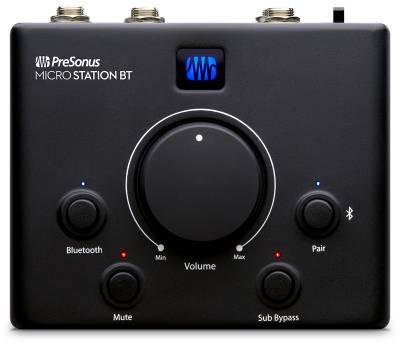 Купить PRESONUS Micro Station BT Мониторный контроллер онлайн