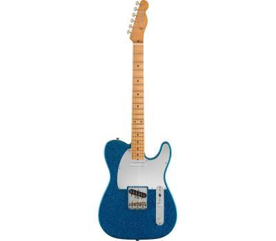 Купить FENDER J MASCIS TELECASTER MN BOTTLE ROCKET BLUE FLAKE Электрогитара онлайн