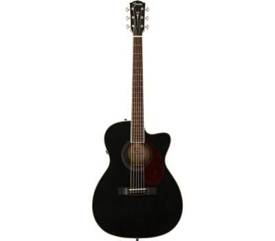 Купить FENDER PM-3CE TRIPLE-O MAHOGANY BLACK TOP LTD Гитара электроакустическая онлайн