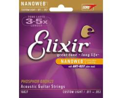 ELIXIR PB NW CL Струны для акустических гитар
