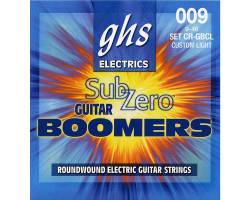 GHS STRINGS SUB-ZERO BOOMERS SET Струны для электрогитар