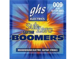 GHS STRINGS SUB-ZERO BOOMERS SET Струны для электрогитар