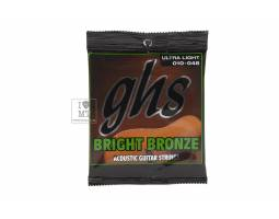 GHS STRINGS BRIGHT BRONZE SET BB10U Струны для акустических гитар