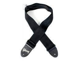 GIBSON ASGSB-10 REGULAR STYLE 2 SAFETY STRAP JET BLACK Ремень гитарный