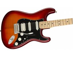 FENDER PLAYER STRATOCASTER HSS PLUS TOP MN ACB Электрогитара
