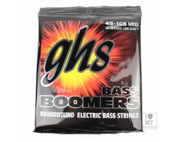 GHS STRINGS M3045X BASS BOOMERS LONG+MEDIUM Струны для бас-гитар