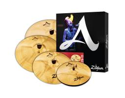 ZILDJIAN A CUSTOM SET 5 PACK Набор тарелок
