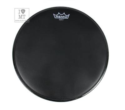"Купить REMO EMPEROR X 14"" BLACK SUEDE Пластик для барабана онлайн"
