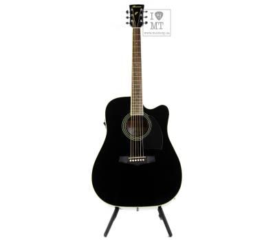 Купить IBANEZ PF15ECE BK Гитара электроакустическая онлайн