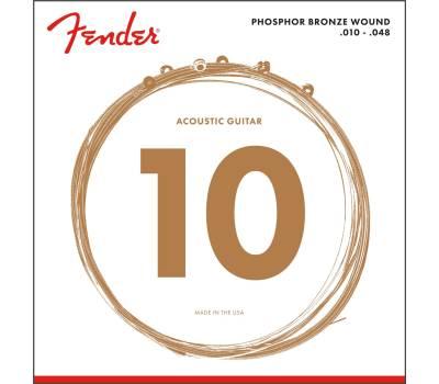 Купить FENDER 60XL Струны для акустических гитар онлайн
