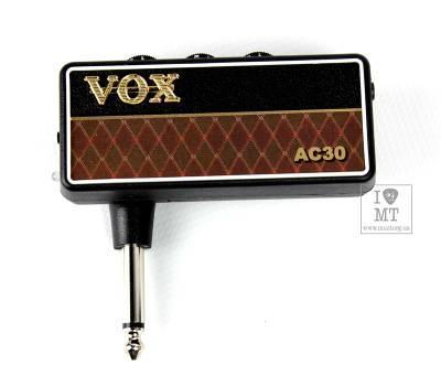 Купить VOX AMPLUG2 AC30 (AP2-AC) Гитарный усилитель для наушников онлайн