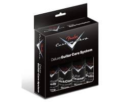 FENDER CUSTOM SHOP DELUXE GUITAR CARE SYSTEM 4 PACK Средство по уходу за инструментом