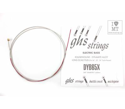 Купить GHS STRINGS DYB65X Струна для бас-гитары онлайн
