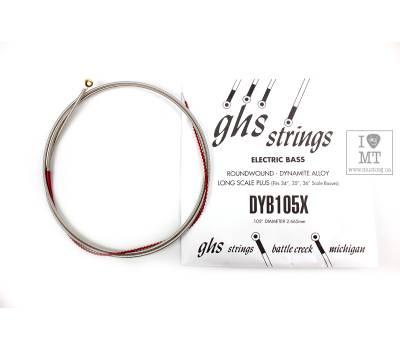 Купить GHS STRINGS DYB105X Струна для бас-гитары онлайн