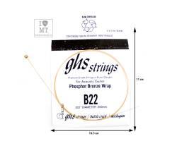 GHS STRINGS B22 Струна для акустической гитары
