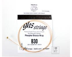 GHS STRINGS B30 Струна для акустической гитары
