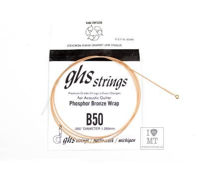 Купить GHS STRINGS B50 Струна для акустической гитары онлайн