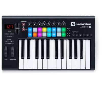 Купити NOVATION LAUNCHKEY 25 MK2 MIDI клавіатура онлайн